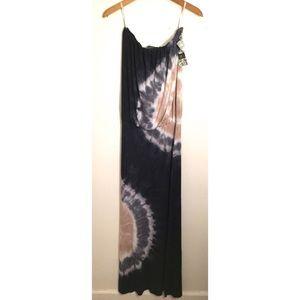 Young fabulous and broke tie dye maxi dress